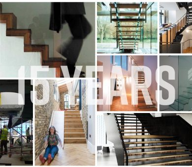 15 Staircases for 15 Years